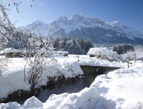 Winteridylle bei Grainau